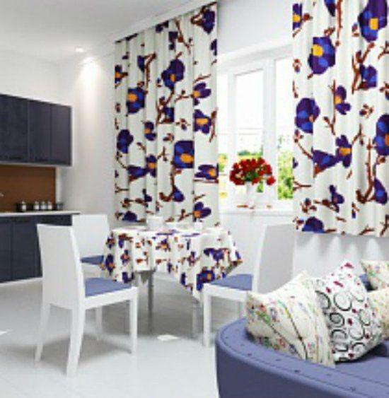 26 идей для пошива кухонных штор и занавесок | Шторы ...