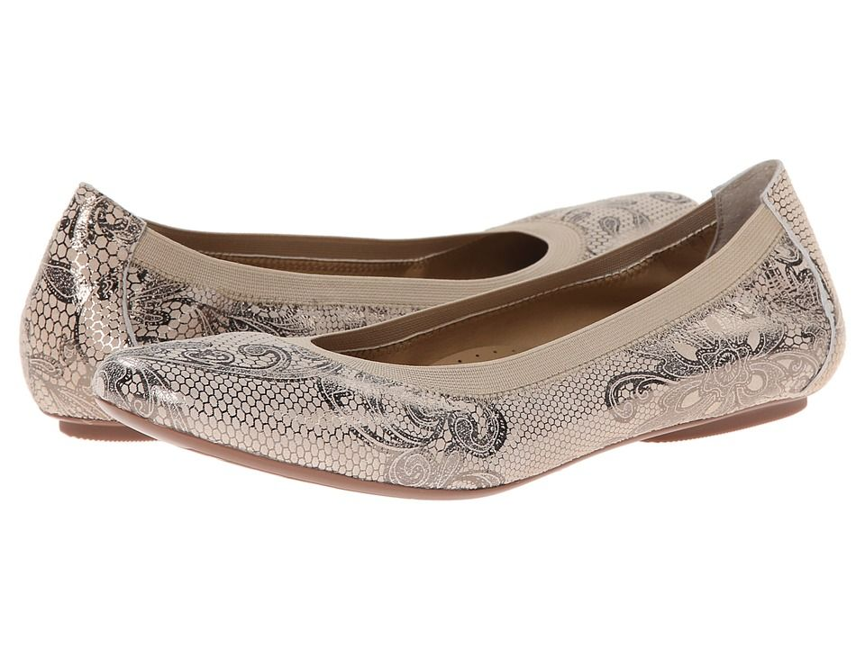 Womens Shoes Vaneli Sheary Champagne Pizzy Print