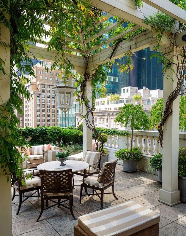 Cómo decorar y aprovechar tu terraza Patios, Balconies and Gardens - como decorar una terraza
