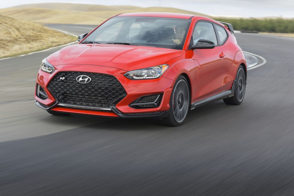 2021 Hyundai Veloster N Review Pricing And Specs In 2020 Hyundai Veloster Hyundai Honda Civic Type R