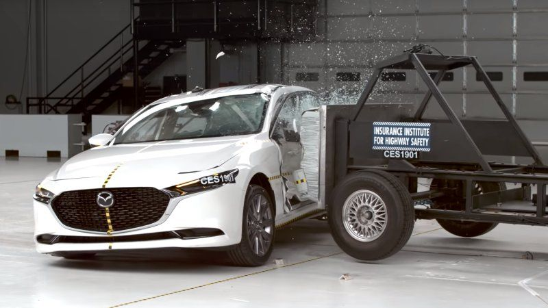 2019 Mazda3 Gets Iihs Top Safety Pick For Sedan And Hatchback