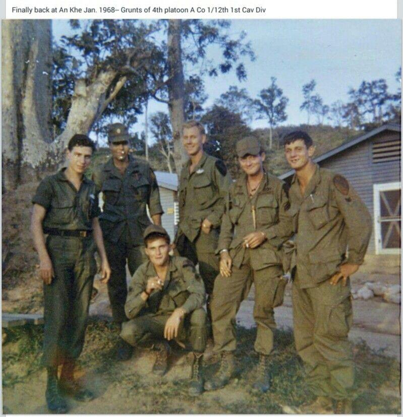 4th Platoon A Co 1 12 1st Cav Div An Khe Jan 1968 Vietnam War Vietnam War Vietnam Vets Vietnam Veterans