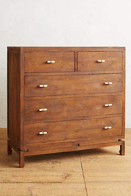 Tanah Five Drawer Dresser Anthropologiecom Jadore Pinterest