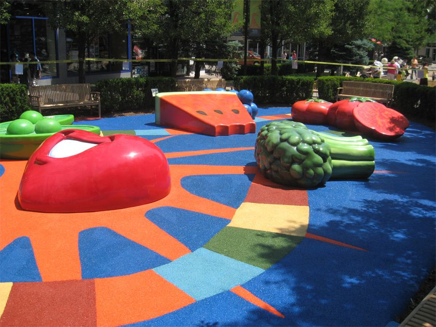 Fireproof Best Rubber Flooring For Playground Playground
