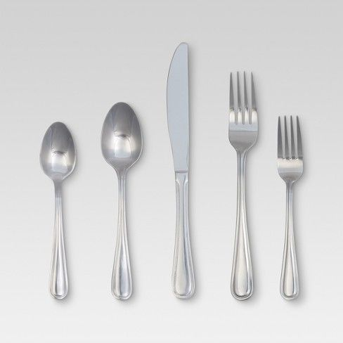 Eldon Silverware Set 20 Pc Stainless Steel Threshold