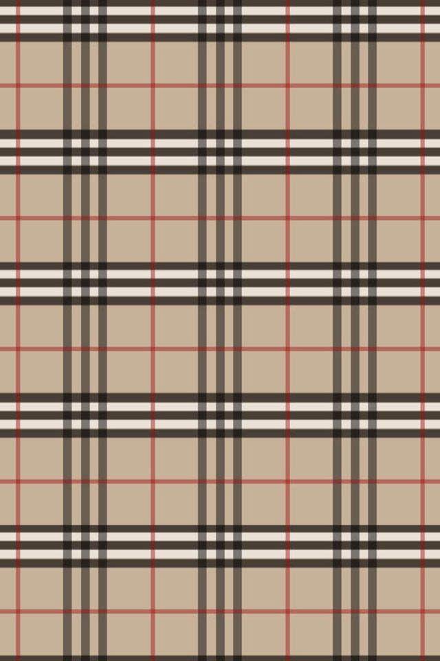 Burberry Pattern Home Screen Backgrounds Pinterest