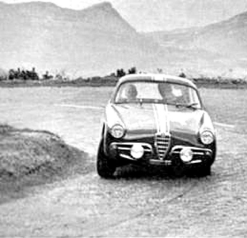 1960 Alpine Rally: Jean Rolland, Alfa Romeo Giulietta SSZ