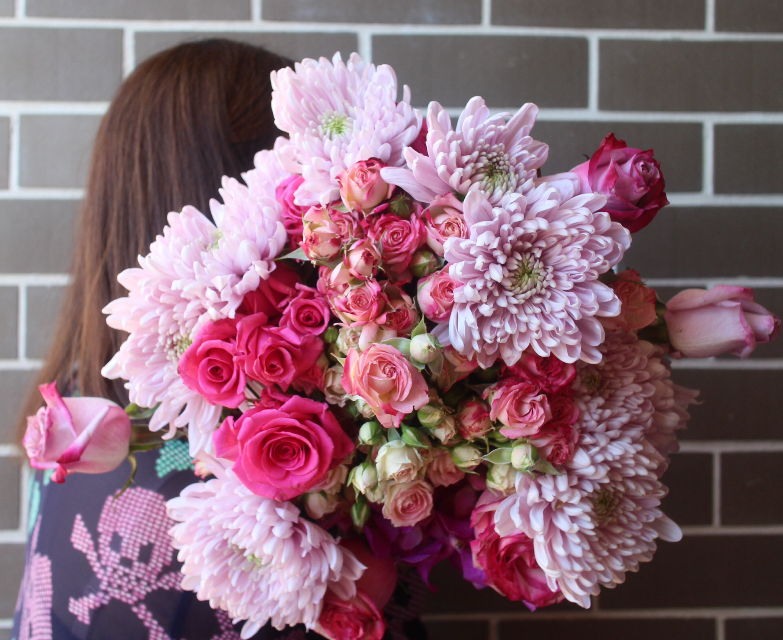 Lovely Pink Flowers Florist Flower Pinkflower Weddingflower