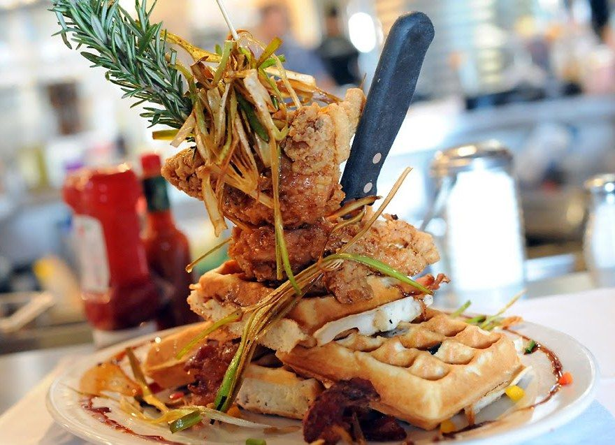 Hash House A Go Go In Plano Chicken And Waffles Fried Chicken And Waffles Food
