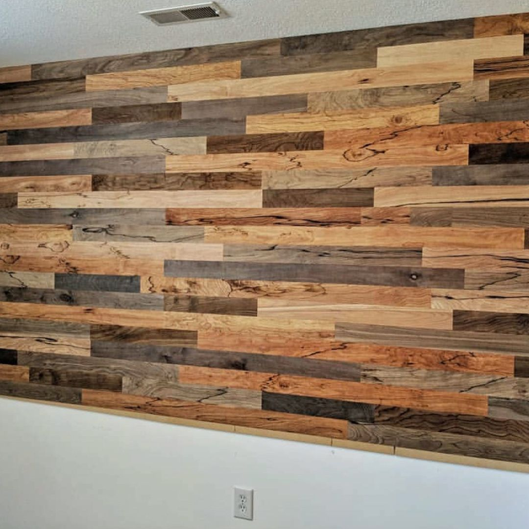 Easy Install Pallet Wood Wall: 80 Creative Pallet Recycling Ideas And Plans