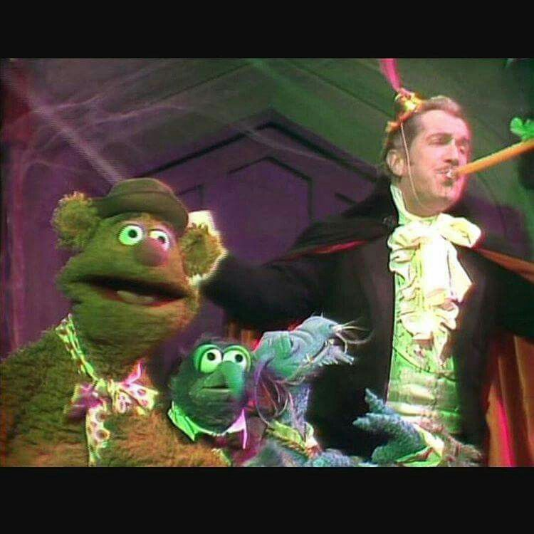 Happy new year! Muppets, Vincent price, Film noir