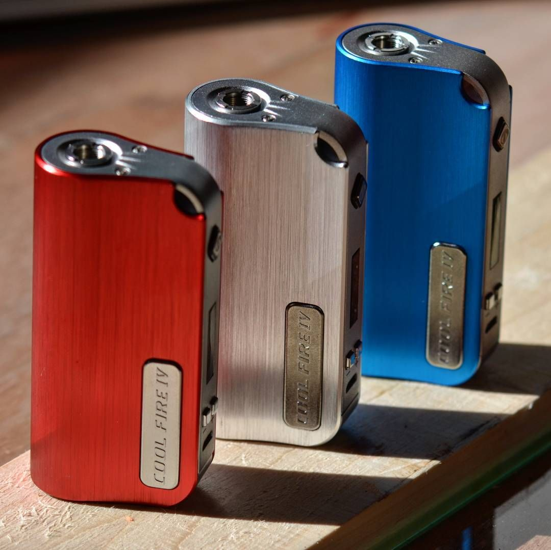 #Innokin #CoolFire4 lineup at #VapeEmporium. This pocket friendly #mod will fire down to 0.3 ohms up to 40 watts has a spring loaded 510 connector with a built in 2000 mAh battery with pass through charging all wrapped up in a sleek and beautifully finished case.  Available online and in our Hampstead and Richmond emporiums. Find out more on our website: http://ift.tt/1fpCXFe