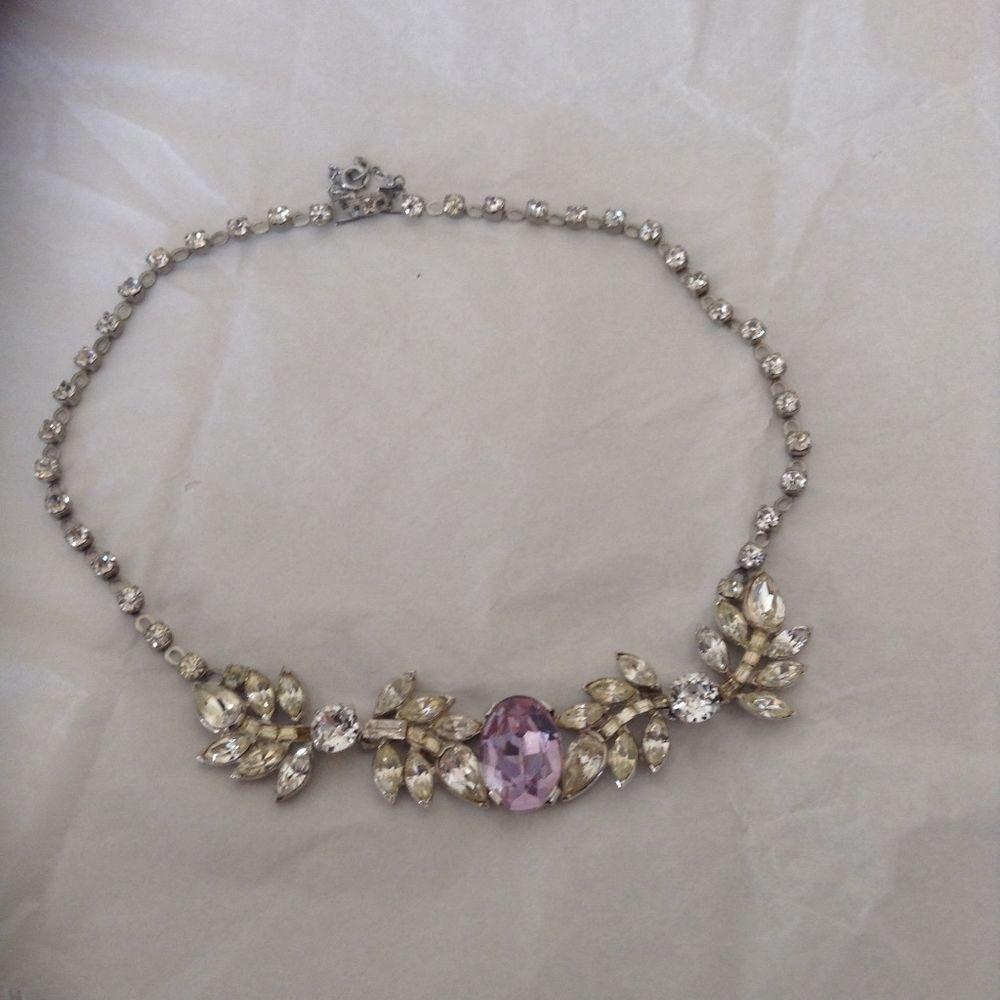 Norman hartnell vintage costume jewellery necklace 4799 5b costume jewellery ebay aloadofball Image collections