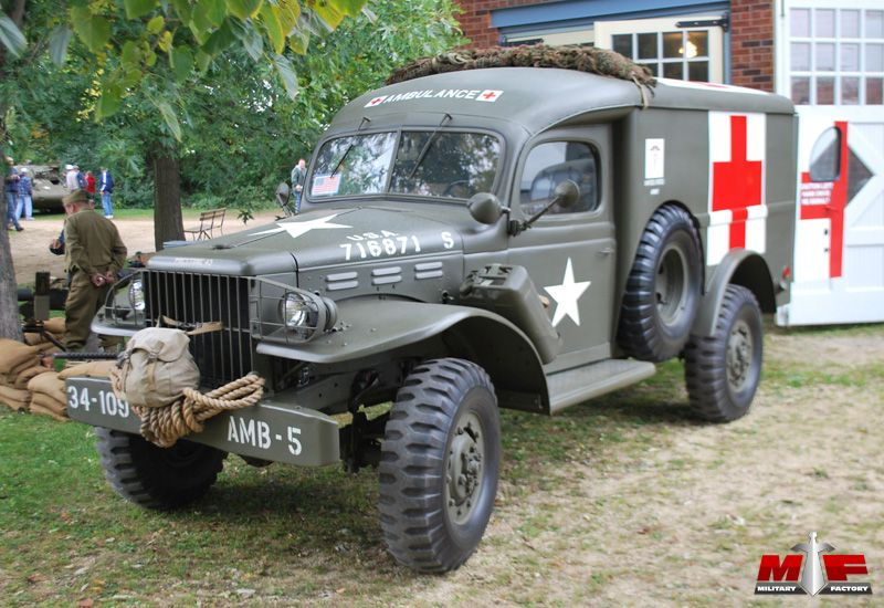 This is a Dodge G505 used as an ambulance during WW2 Ambulances