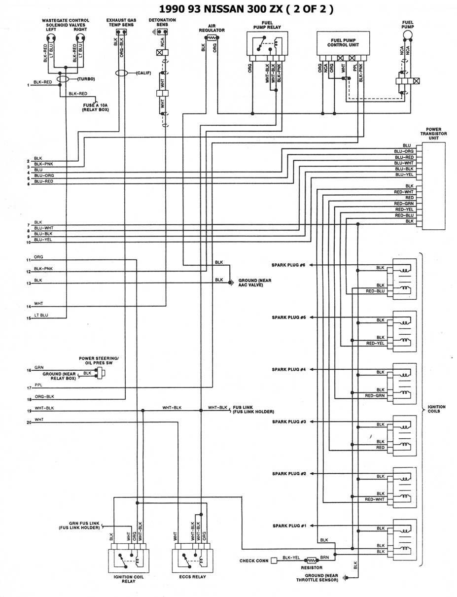 Diagrama Electrico Nissan Tsuru Ii 2 In 2020 Nissan Sentra Nissan