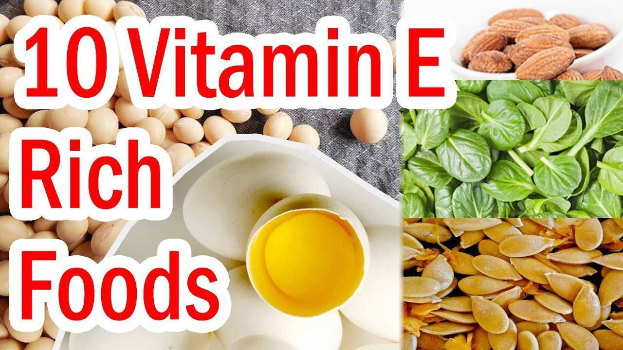 Top 10 Vitamin E Rich Foods Foods With Vitamin E Vitamin Rich