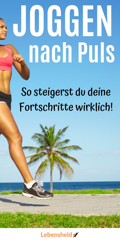 Joggen nach Puls - So joggst du effektiver - Lebensheld in..