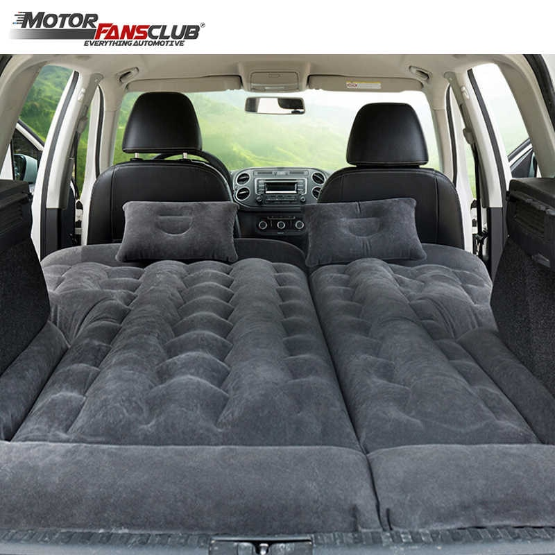 164*132cm SUV Inflatable Car Travel Bed Camping Adjustable