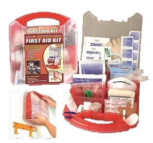 183 Piece First Aid Kit Off Grid Survival Gear Emergency Kit In 2020 First Aid Kit Aid Kit First Aid