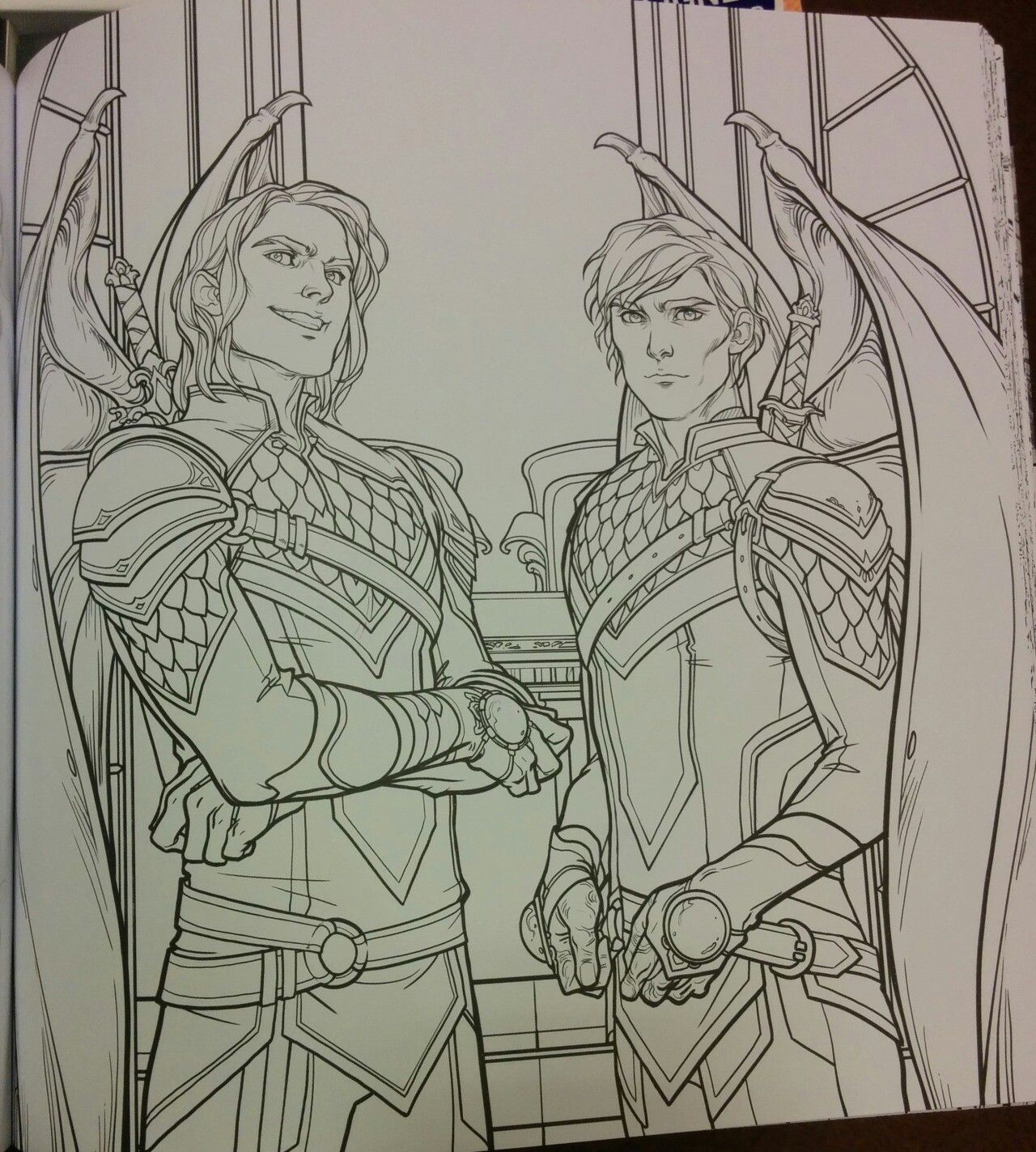 Cassian And Az With Images Coloring Books A Court Of Wings