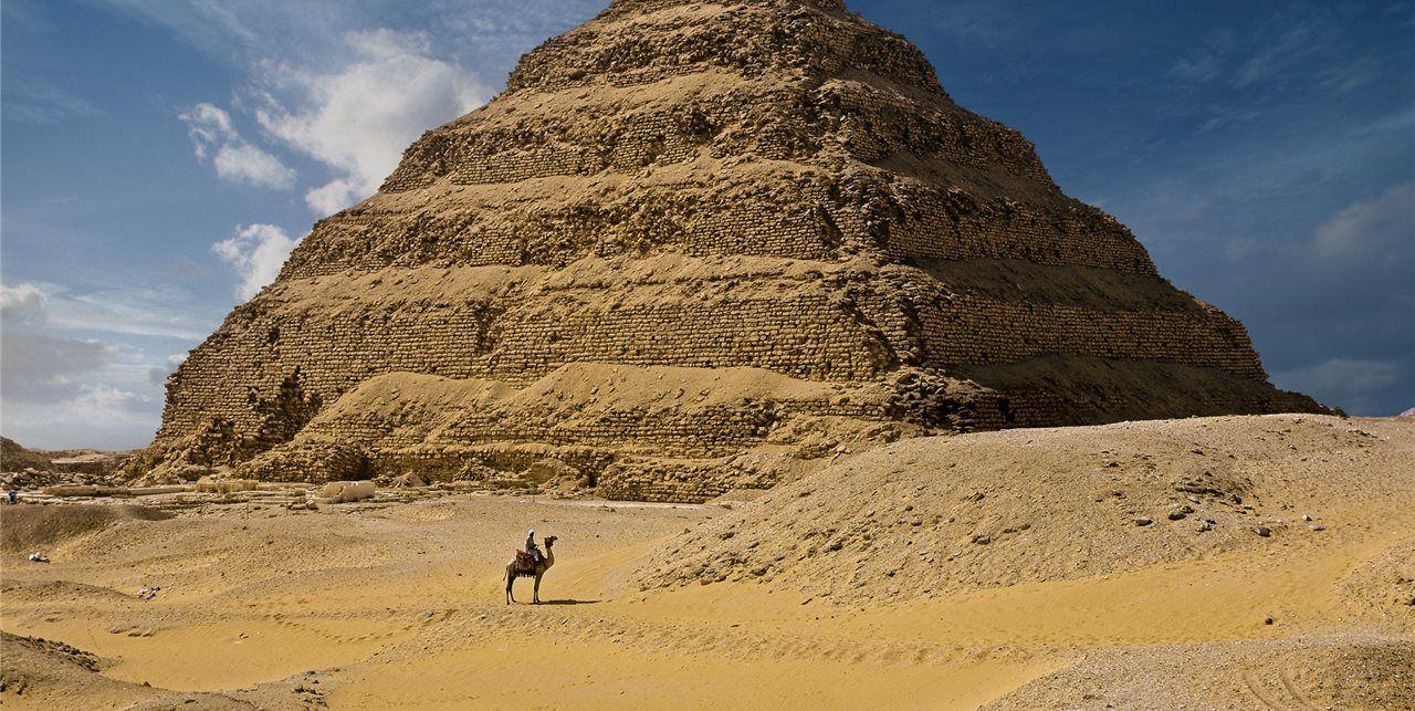 La Piramide De Djoser Egito Piramide De Djoser Antigo Imperio