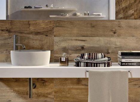 wood plank kitchen backsplash - Google Search