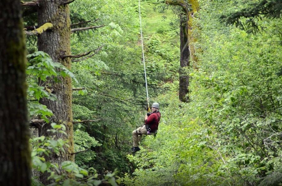 Zip Line Tour On The Columbia River Gorge Skamania Lodge Zip Line Tour Zipline Tours Washington Travel Ziplining