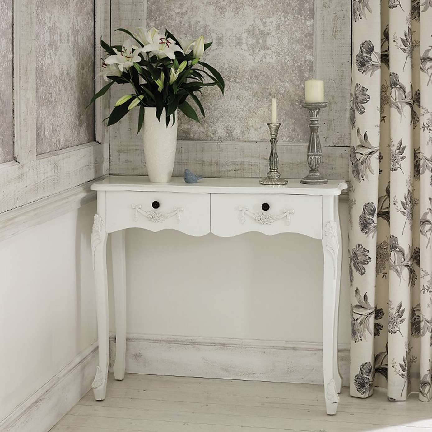 Toulouse White Console Table White Console Table Console Table Living Room Console Table