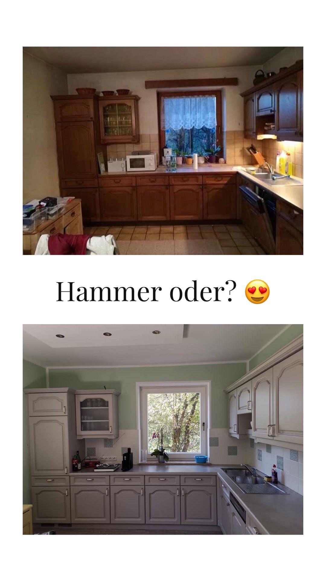 Küche Streichen Mit Kreidefarbe Und Kreidelacken Misspompadour Küchen Streichen Küche Neu Streichen Küche Neu Gestalten