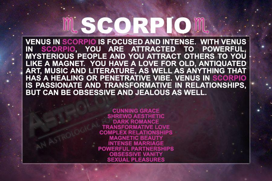 Venus in scorpio obsessive
