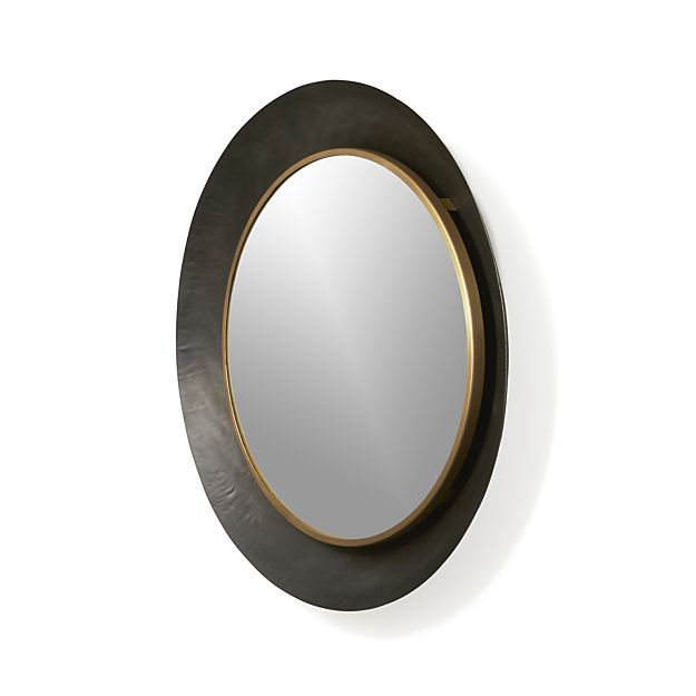 Dish Round Wall Mirror Reviews Crate And Barrel In 2020 Mirror Design Wall Mirror Wall Framed Mirror Wall