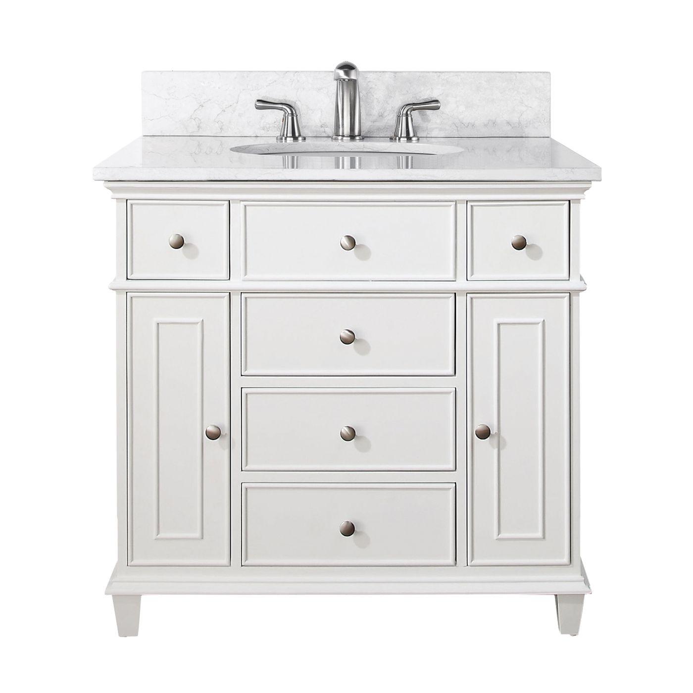 Shop Avanity WINDSOR-VS Windsor Bathroom Vanity with ...