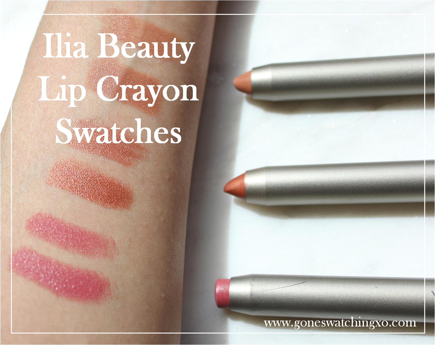 Ilia Beauty Organic and Natural Lip Crayon Review and