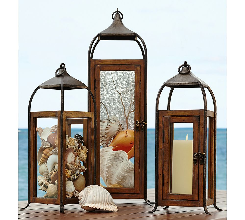 The Glow Of Summer How To Decorate With Lanterns Lanterns Decor Metal Lanterns Lantern Lights