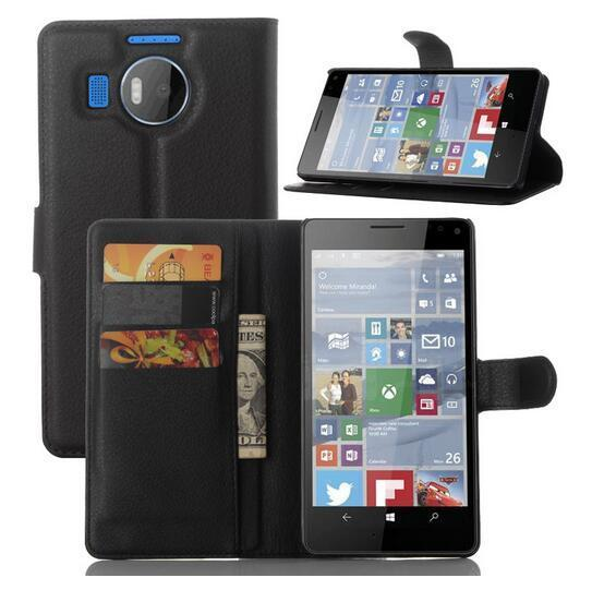 buy popular 8b0ac f754c 7.14AUD - Mn Wallet Holder Leather Pouch Case Cover For Microsoft ...