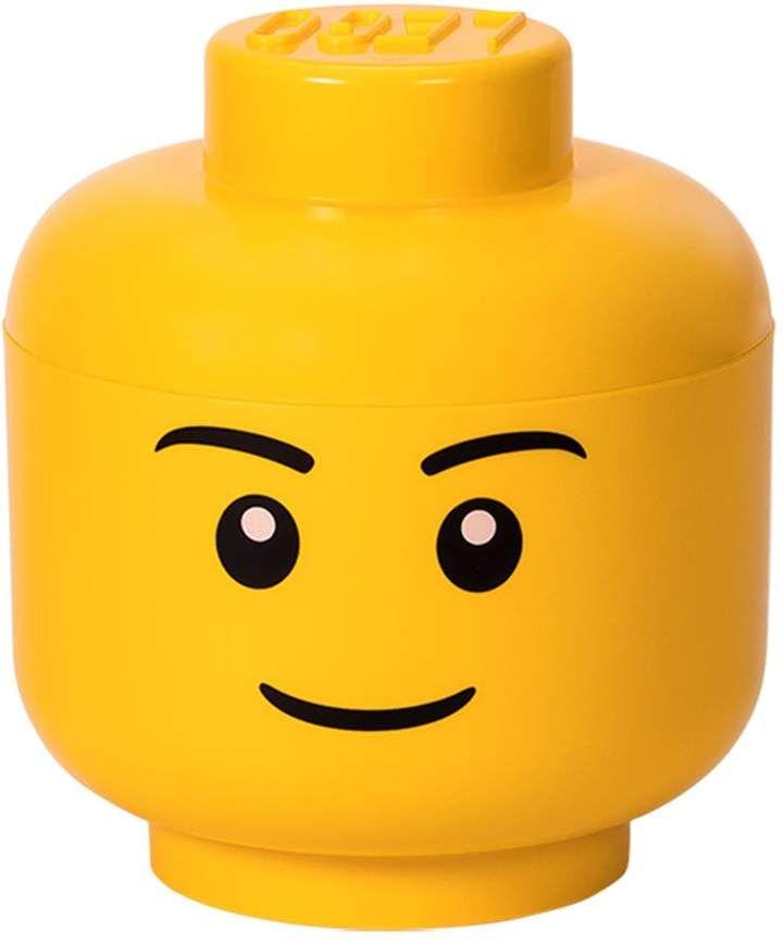 Lego Head Storage With Images Lego Storage Lego Head Lego