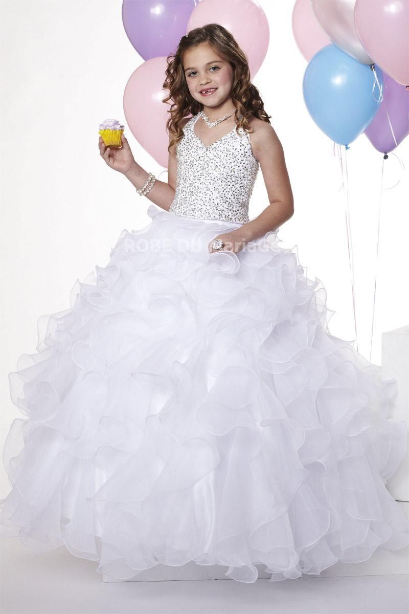 robe ceremonie fille, robe cortège mariage pas cher sur mesure