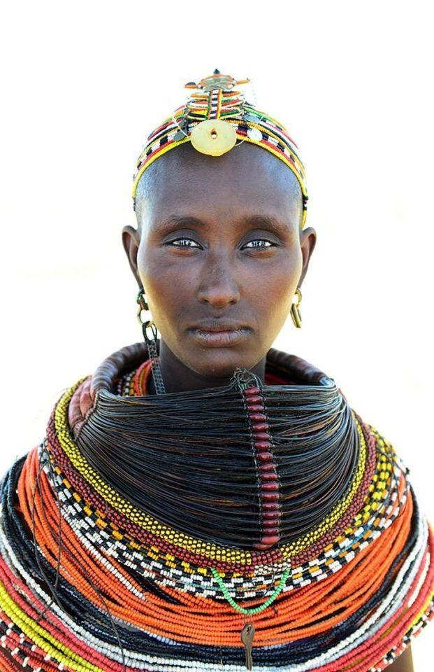 Rendile woman, Kenya