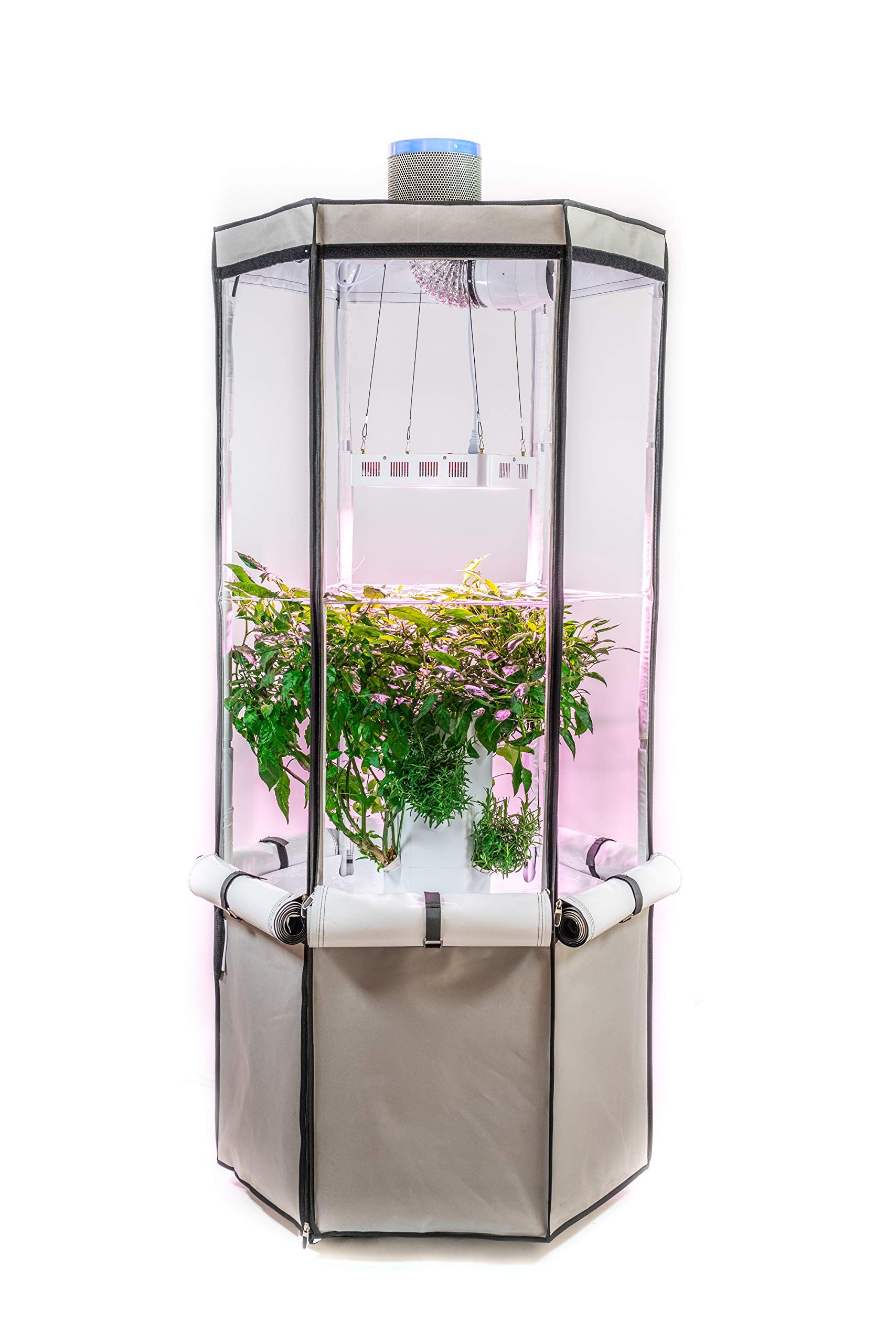 1500W Vertical Hydroponic Grow Kit Tower Click image