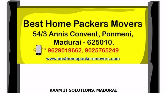 Top Best Home Packers And Movers In Madurai Tamilnadu Packers