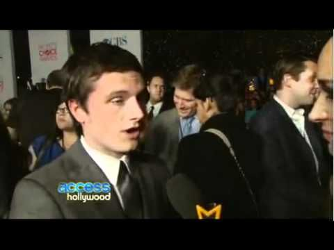 Josh talks about doing ADR for THG day before. #PCA