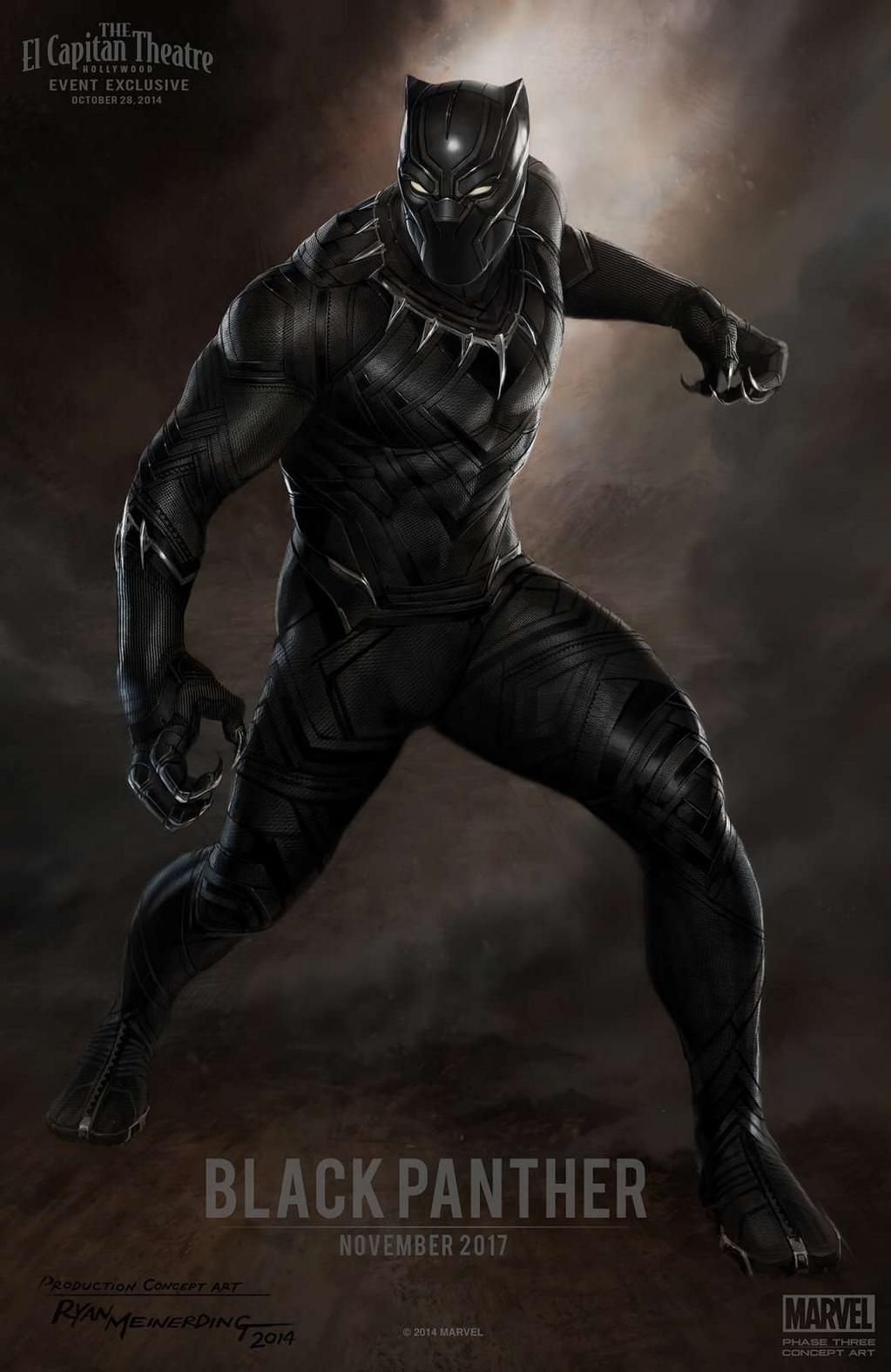 фото черная пантера марвел