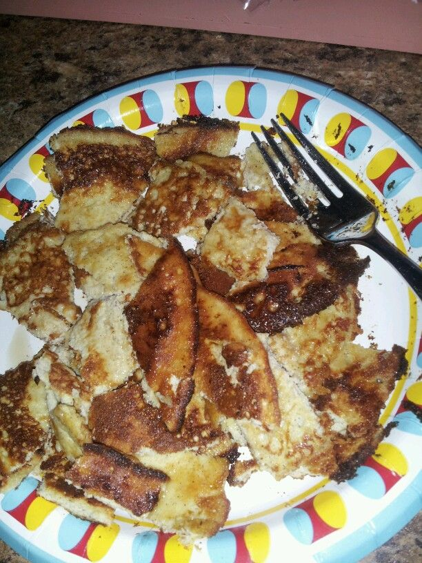 cream cheese pancakes - perfect w/sf syrup