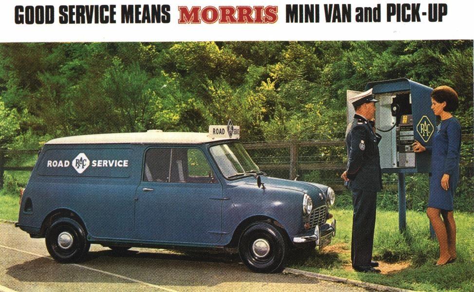 09a59b540e4df3 Mini Van vintage advertising