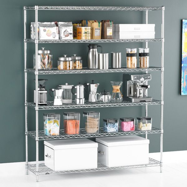 Commercial Kitchen Shelving Ideas