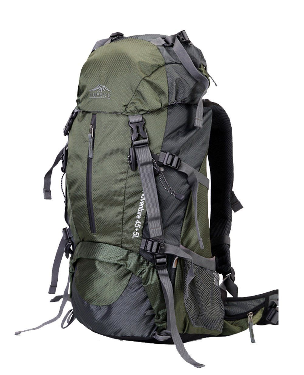 91a7c7e84d Topsky Outdoor Sports Hiking Climbing Backpack Daypacks Waterproof  Professional Mountaineering Bag 30621 Unisex 40L 50L 60L Travel Trekking  Rucksack with ...
