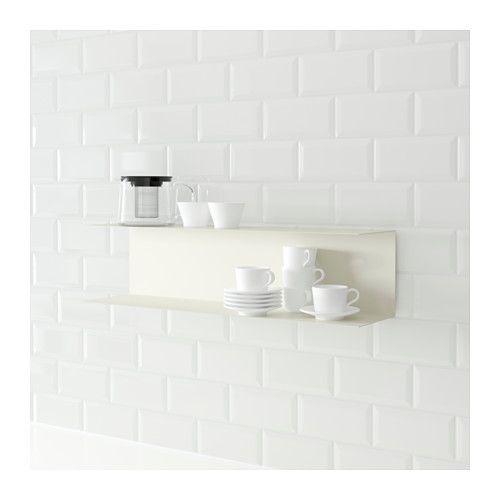 Ikea wandregal weiß  BOTKYRKA Wandregal, weiß | Ikea
