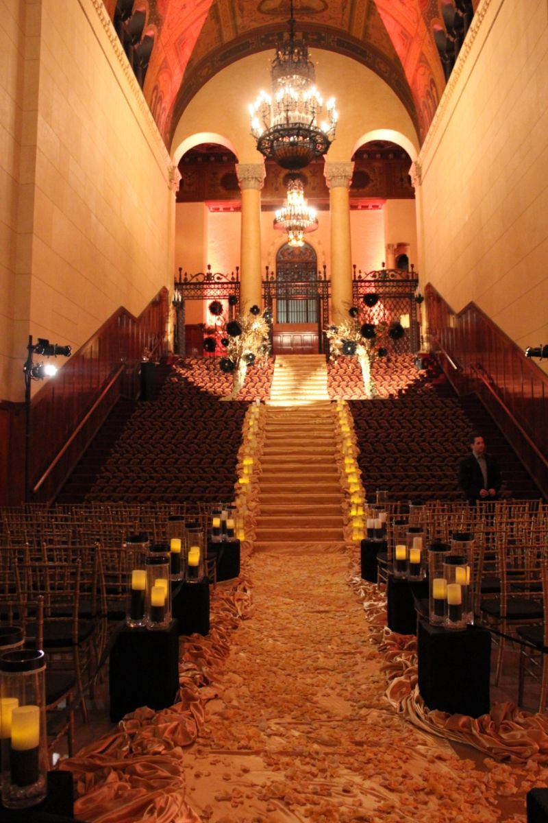 Los Angeles Weddings and Wedding Halls and