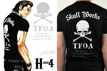 Pin oleh Jasnikah di Crows X Worst Pria, Jaket pria, T shirt