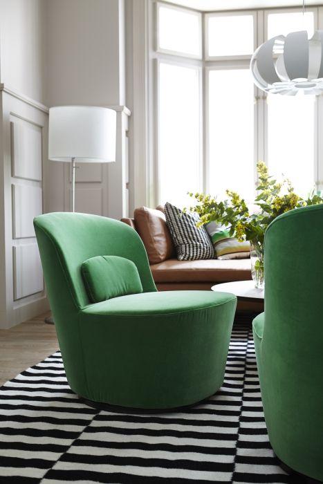 Steelt de STOCKHOLM draaifauteuil straks de show in jouw woonkamer ...